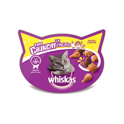 Whiskas Trio Crunchy Cat Treats Poultry