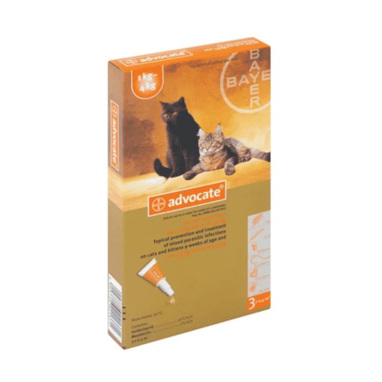 Advocate Kitten & Cat 1-4kg Parasiticide