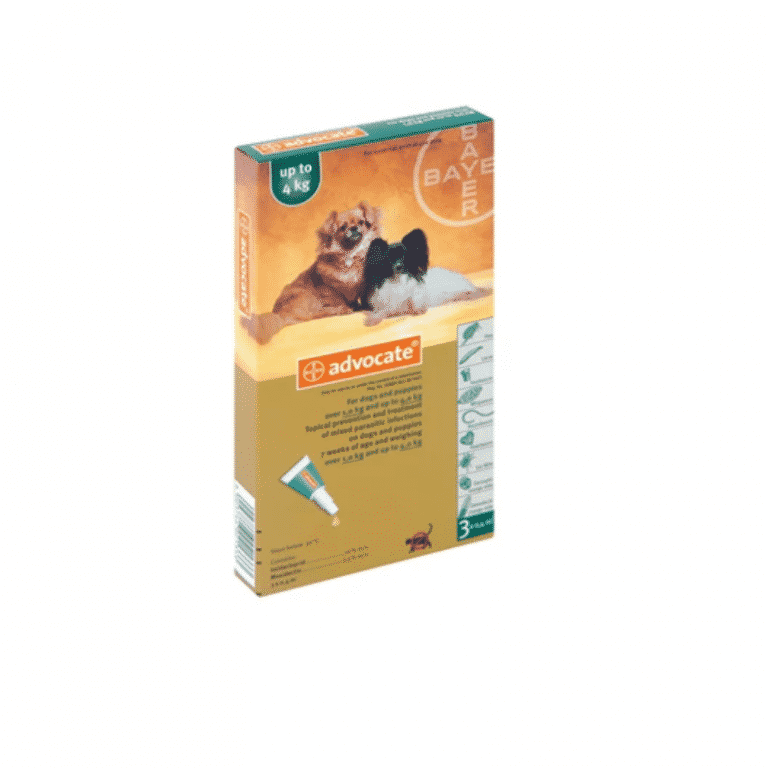 Advocate Puppy & Small Dog 1-4kg Parasiticide
