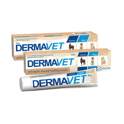 Ascendis Health dermavet wound healing cream for dgos and cats