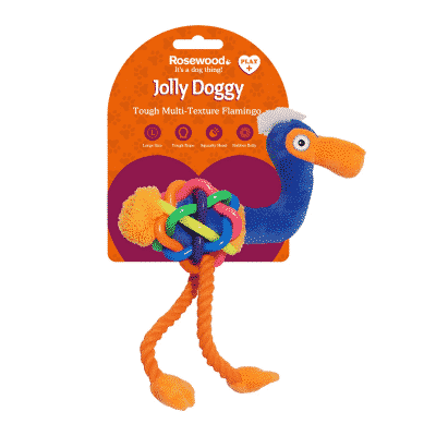 Jolly Doggy Play-Plus Flamingo L