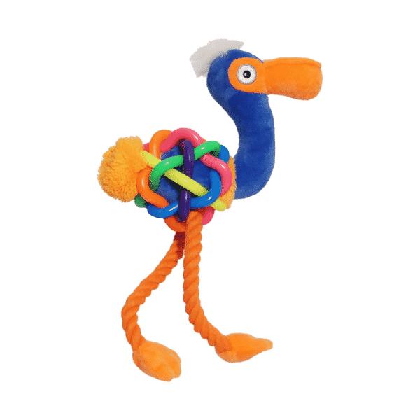 Jolly Doggy Play-Plus Flamingo Large