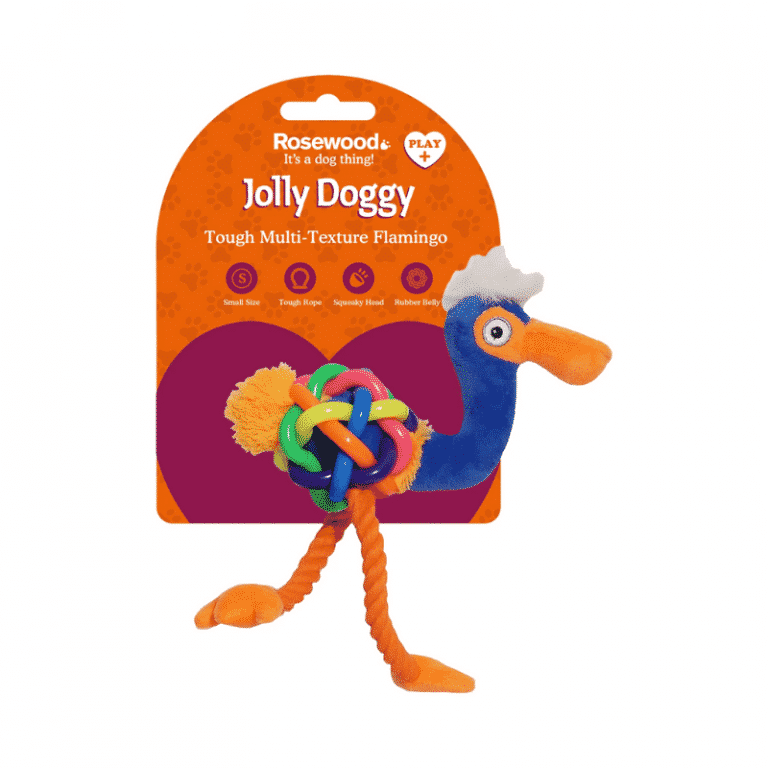 Jolly Doggy Play-Plus Flamingo S