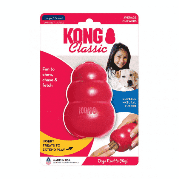 Kong Classic Rubber Dog Chew Toy large