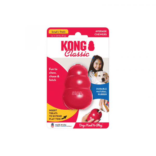Kong Classic Rubber Dog Chew Toy small