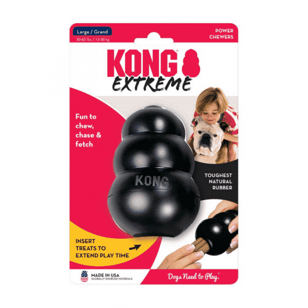 Kong Extreme Rubber Dog Chew Toy medium