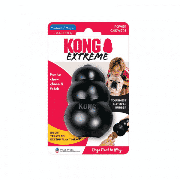 Kong Extreme Rubber Dog Chew Toy small