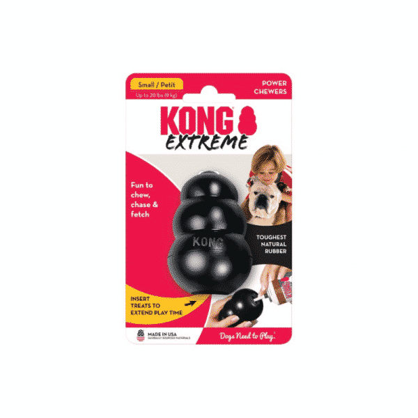 Kong Extreme Rubber Dog Chew Toy xsmall