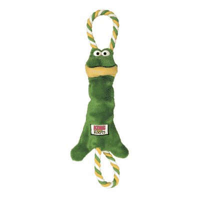 Kong Tugger Knots Frog Medium