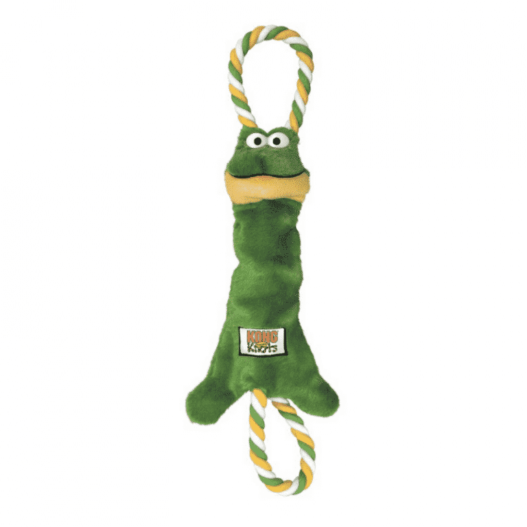 Kong Tugger Knots Frog Medium