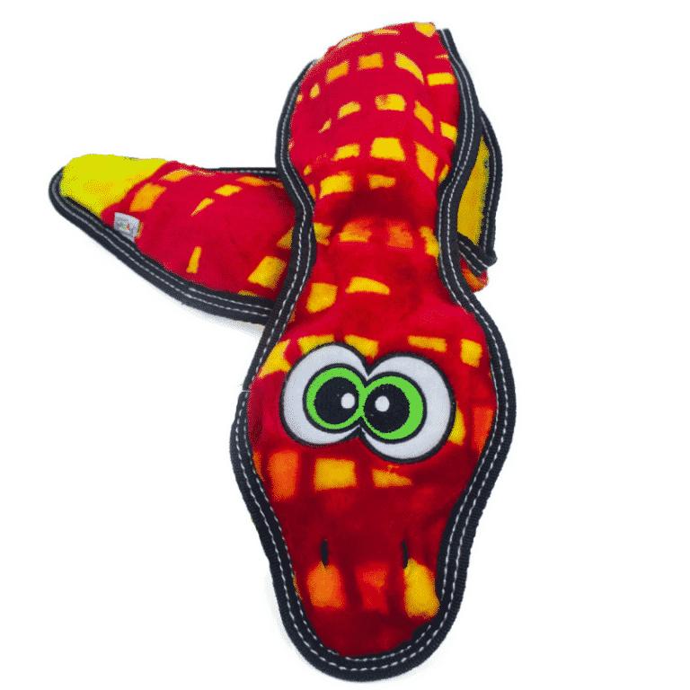 Outward Hound Tough Seamz Snake 6 Squeaker 2