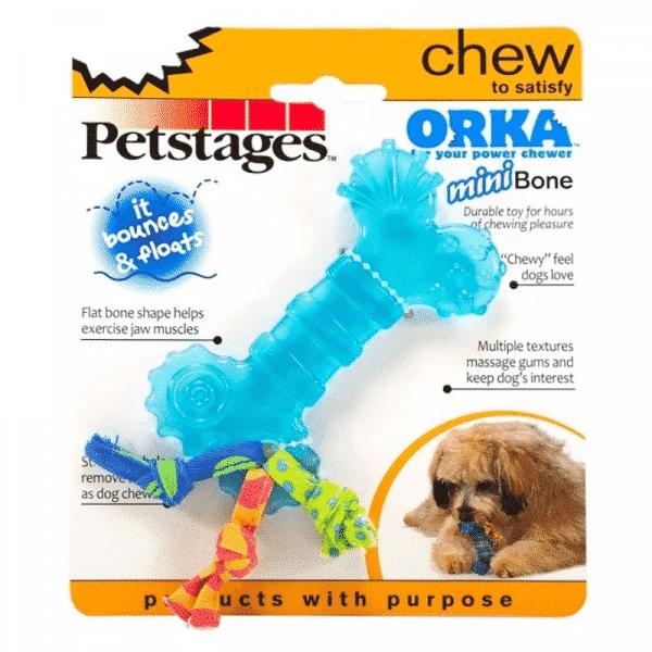 Petstages® ORKA Bone Mini packaging