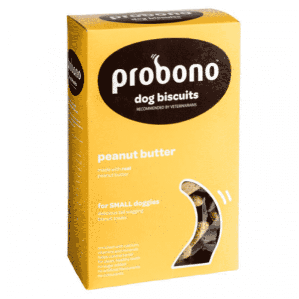 ProBono Peanut Butter Small Dog Treat