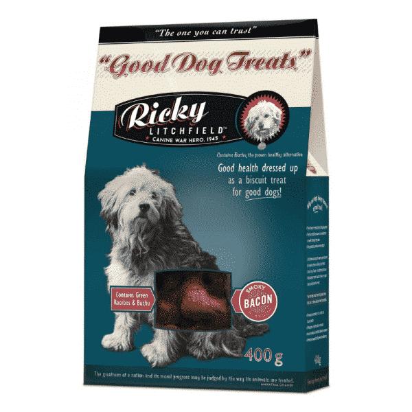 Ricky Litchfield Good Dog Treat Bacon