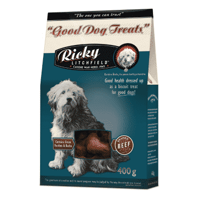 Ricky Litchfield Good Dog Treat Beef