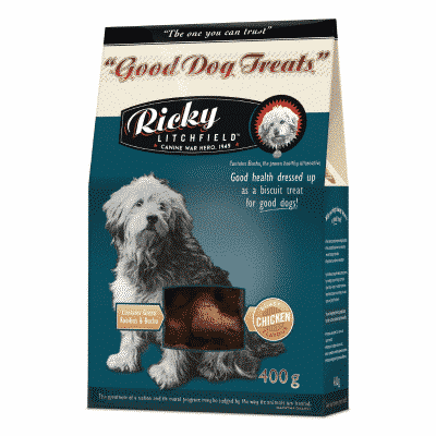 Ricky Litchfield Good Dog Treat Roast Chicken