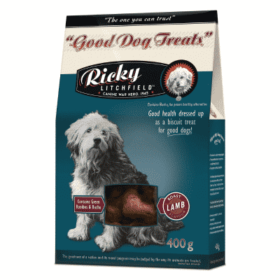 Ricky Litchfield Good Dog Treat Roast Lamb