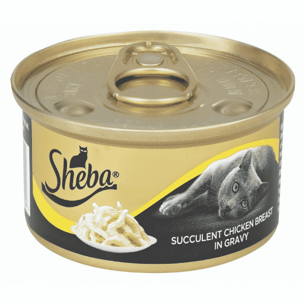 Sheba Chicken Breast in Gravy Cat Food