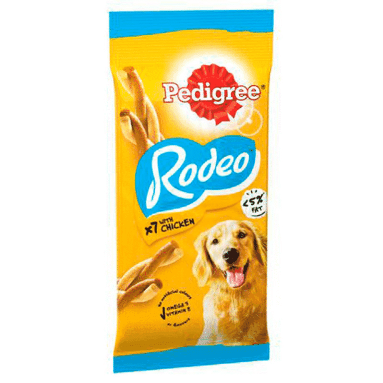 Pedigree Rodeo dog treat 7 pieces